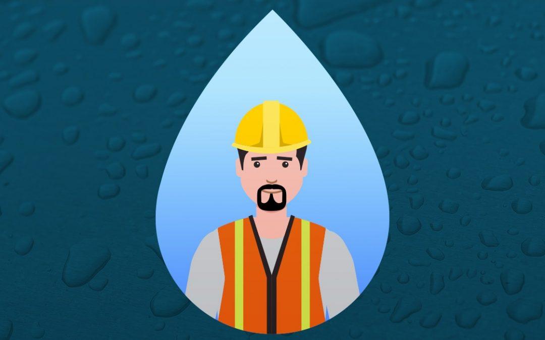 La importancia de estar bien hidratado mientras se trabaja.
